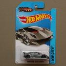 Hot Wheels 2014 HW City Lamborghini Sesto Elemento (grey) (Need For Speed) (SEE CONDITION)