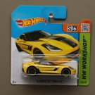 Hot Wheels 2015 HW Workshop '14 Corvette Stingray (yellow)
