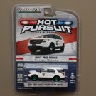 Greenlight Hot Pursuit Series 17 '13 Ford Police Interceptor Utility (Navy Pier) (Green Machine)