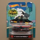 Hot Wheels 2016 Retro Entertainment '66 Classic TV Series Batmobile (Batman) (SEE CONDITION)