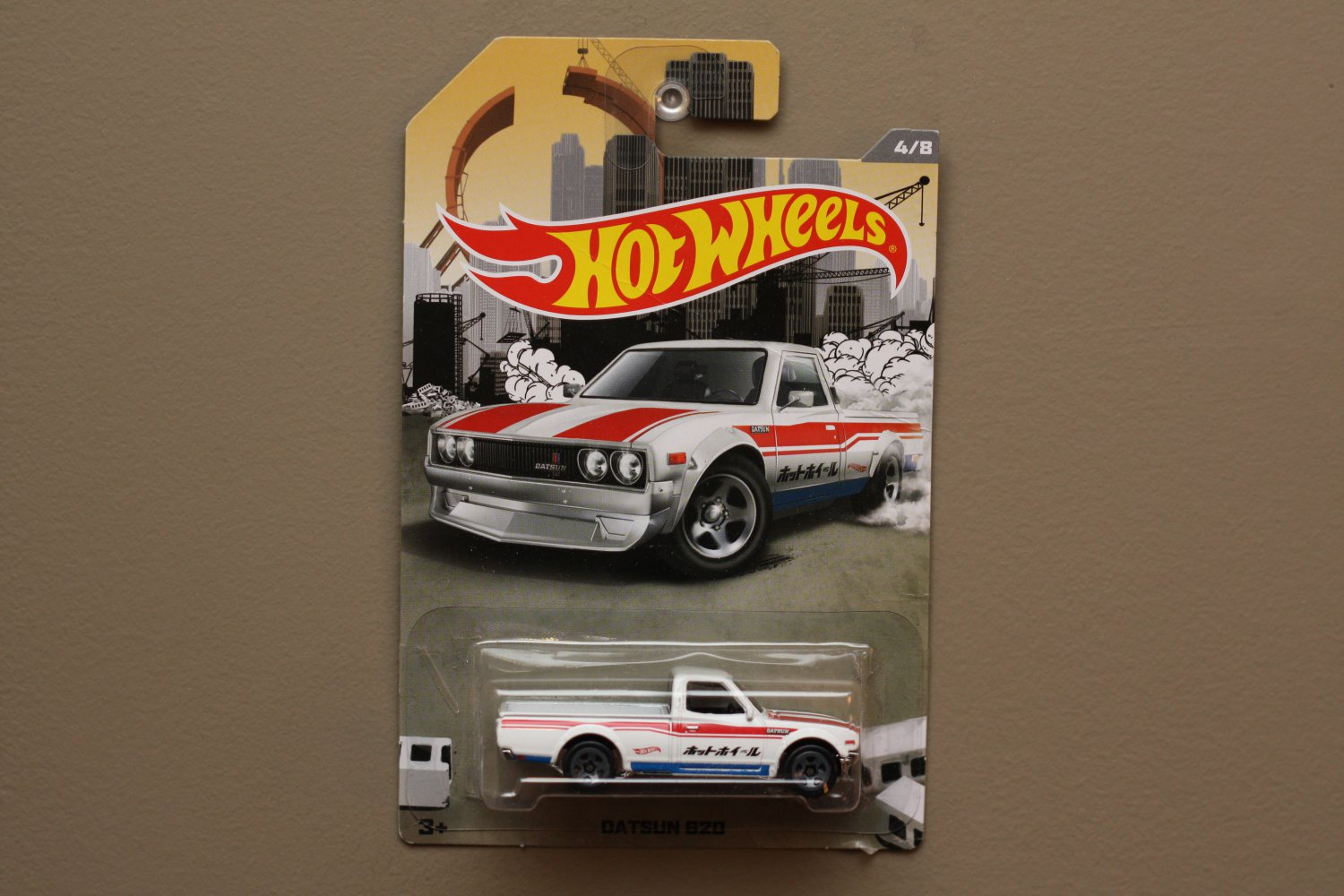 Hot wheels 2016 rad trucks datsun 620 for 9 salon hot wheels 2016