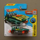 Hot Wheels 2016 HW City Works Loopster (teal) (hands up variation)