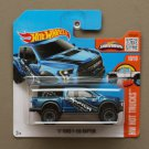 Hot Wheels 2016 HW Hot Trucks '17 Ford F-150 Raptor (blue)