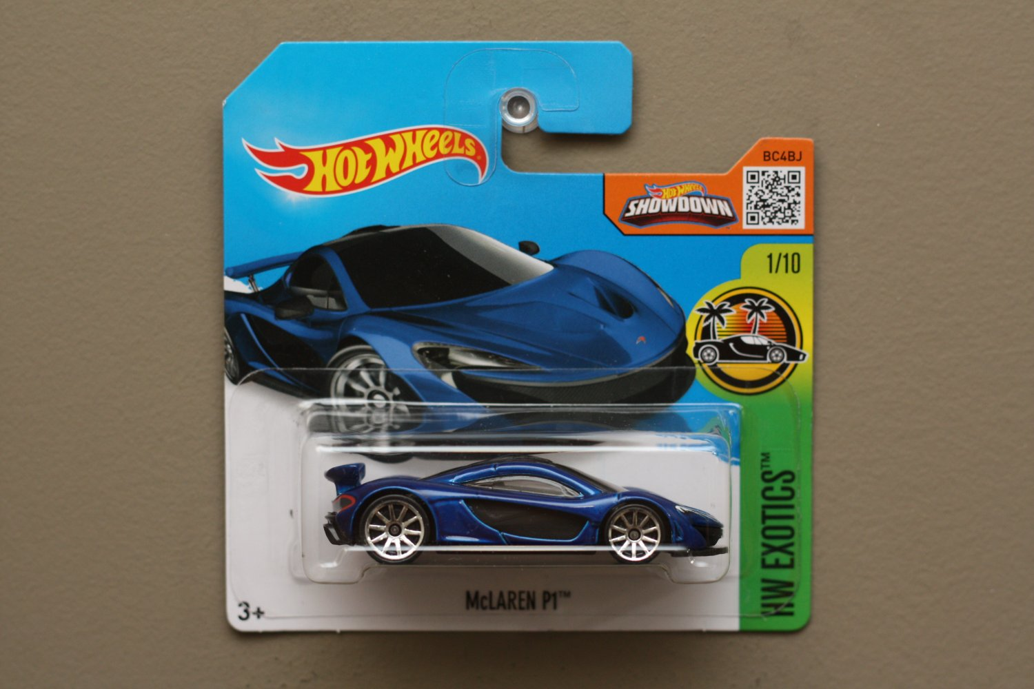 Hot wheels 2016 hw exotics mclaren p1 blue for 9 salon hot wheels 2016