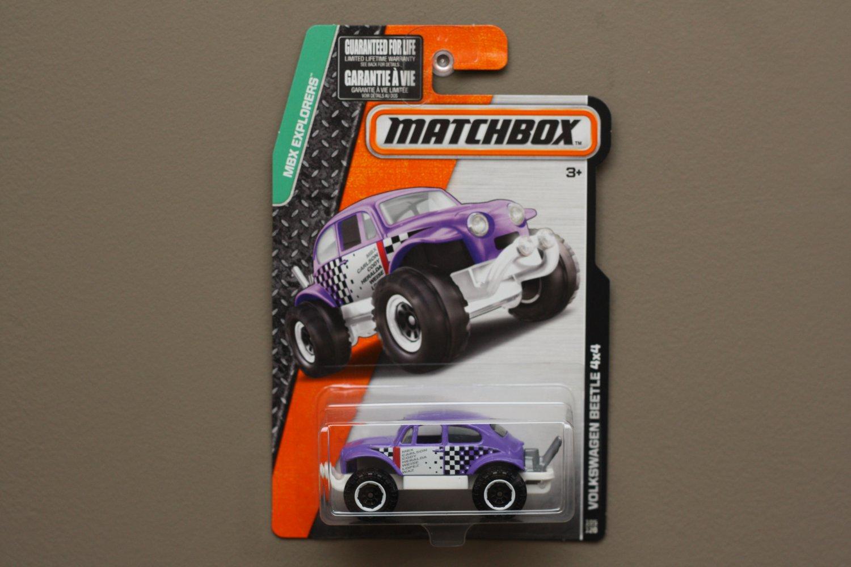 Matchbox 2015 MBX Explorers Volkswagen Beetle 4x4 (purple)