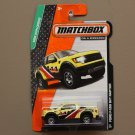 Matchbox 2014 MBX Explorers Ford F-150 SVT Raptor (yellow)