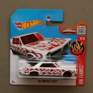 Hot Wheels 2016 HW Flames '65 Pontiac GTO (white)