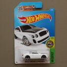 Hot Wheels 2016 HW Exotics Bentley Continental Supersports (white) (SEE CONDITION)