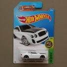 Hot Wheels 2016 HW Exotics Bentley Continental Supersports (white)