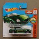 Hot Wheels 2016 HW Digital Circuit Ford Shelby Cobra Concept (green)