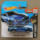 Hot Wheels 2016 Nightburnerz Ford Shelby GT 350R (blue)