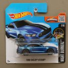 Hot Wheels 2016 Nightburnerz Ford Shelby GT 350R (blue) (SEE CONDITION)