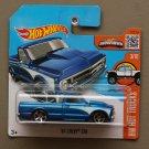 Hot Wheels 2016 HW Hot Trucks '67 Chevy C10 (blue)