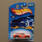 Hot Wheels 2002 Redlines Series Chevy Nomad (orange)