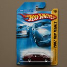 Hot Wheels 2007 New Models Buick Grand National (burgundy) (SEE CONDITION)