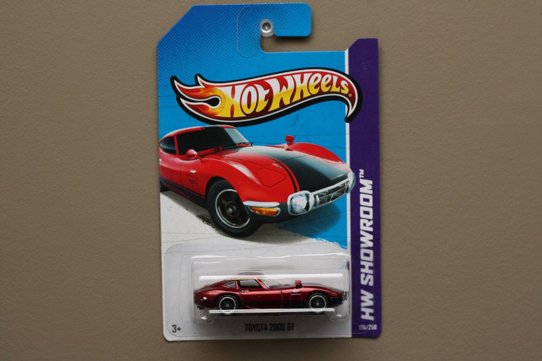 Hot Wheels 2013 HW Showroom Toyota 2000 GT (spectraflame red) (Super Treasure Hunt)