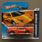 Hot Wheels 2010 HW Garage Lamborghini Reventon (orange) (SEE CONDITION)