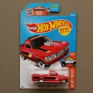 Hot Wheels 2016 HW Hot Trucks Custom '72 Chevy Luv (red) (big rear wheels)