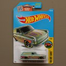 Hot Wheels 2016 HW Art Cars Custom '69 Volkswagen Squareback (pastel green)