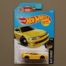 Hot Wheels 2016 Nightburnerz Custom '01 Acura Integra GSR (yellow)