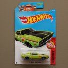 Hot Wheels 2016 Then And Now '71 Dodge Challenger (green - Kmart Excl.) (SEE CONDITION)