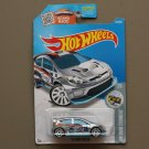 Hot Wheels 2016 HW Snow Stormers '12 Ford Fiesta (ZAMAC silver - Walmart Excl.) (SEE CONDITION)