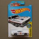 Hot Wheels 2016 HW Speed Graphics '69 Ford Torino Talladega (white)