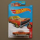 Hot Wheels 2016 HW Flames '66 Ford Fairlane 427 (orange - Kmart Excl.)