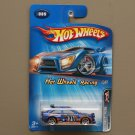 Hot Wheels 2005 HW Racing Ford Escort Rally (blue) (SEE CONDITION)