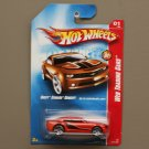 Hot Wheels 2008 Web Trading Cars Chevy Camaro Concept (orange)