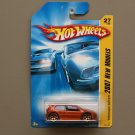 Hot Wheels 2007 New Models Volkswagen Golf GTI (orange - Kmart Excl.)