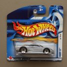 [WHEEL VARIATION] Hot Wheels 2002 First Editions Saleen S7 (silver) (SEE CONDITION)