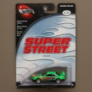 Hot Wheels 100% 2003 Super Street Series Nissan Skyline (green) (SEE CONDITION)
