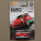 Hot Wheels 2016 Car Culture Euro Style Fiat 500 (SEE CONDITION)