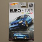 Hot Wheels 2016 Car Culture Euro Style Volkswagen Golf MK7 (SEE CONDITION)