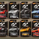 Hot Wheels 2016 Gran Turismo (COMPLETE SET OF 8 CARS)
