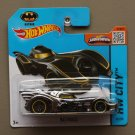 Hot Wheels 2015 HW City Batmobile (Batman) (chrome)
