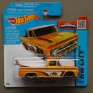 [WHEEL ERROR] Hot Wheels 2015 HW City Custom '62 Chevy (yellow)