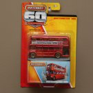 Matchbox 2013 60th Anniversary Commemorative Edition Routemaster Bus (red) (CHROME CHASE)