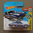 Hot Wheels 2016 HW Speed Graphics '69 Ford Torino Talladega (blue)