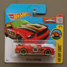 Hot Wheels 2016 HW Art Cars '07 Ford Mustang (red) (SEE CONDITION)