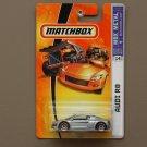 Matchbox 2007 MBX Metal Audi R8 (silver)