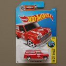 Hot Wheels 2016 HW City Works '67 Austin Mini Van (red)