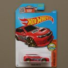 Hot Wheels 2016 HW Digital Circuit Subaru WRX STI (red) (SEE CONDITION)