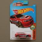 Hot Wheels 2016 HW Digital Circuit Subaru WRX STI (red)