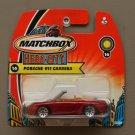 Matchbox 2004 Sun Tuners Porsche 911 Carrera Cabriolet (red)
