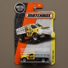 Matchbox 2016 MBX Construction Ford F-350 (yellow)