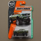 Matchbox 2016 MBX Explorers Custom '68 Ford Mustang Mudstanger (green)