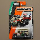Matchbox 2015 MBX Explorers Land Rover Defender 110 (tan)