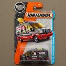 Matchbox 2016 MBX Adventure City '14 Ford Transit News Van (grey)